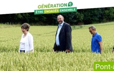 La liste des candidats Ecolo pour Pont-à-Celles