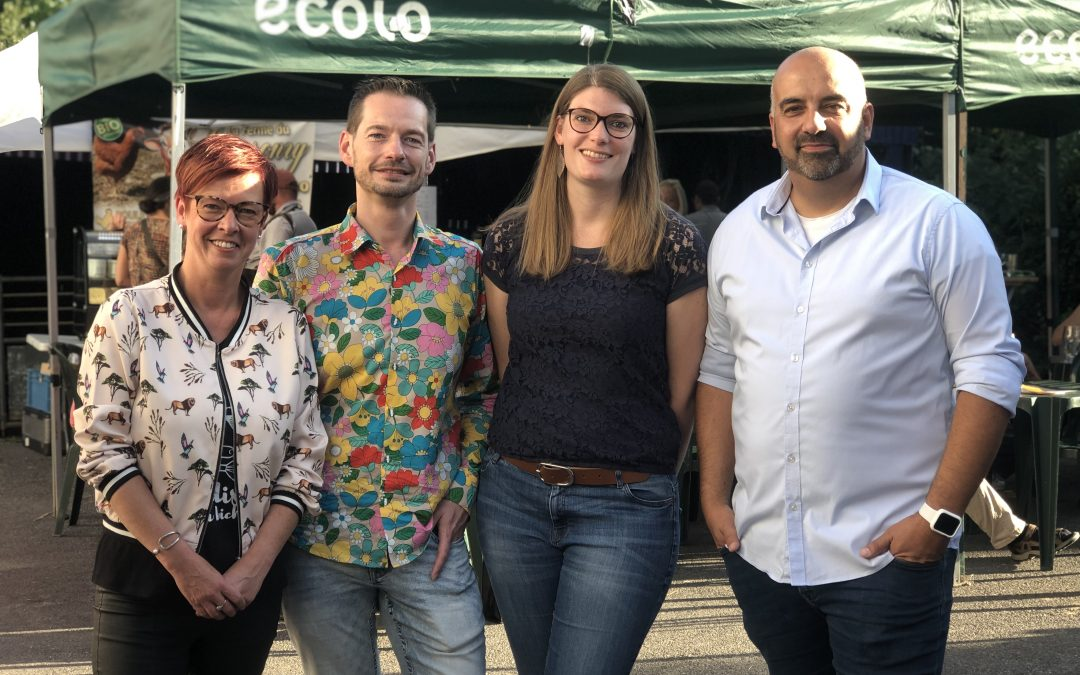 Un quatuor pour la coprésidence régionale ECOLO Charleroi Metropole